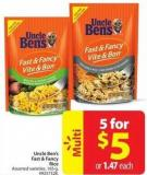 Uncle Ben's Fast and Fancy Rice