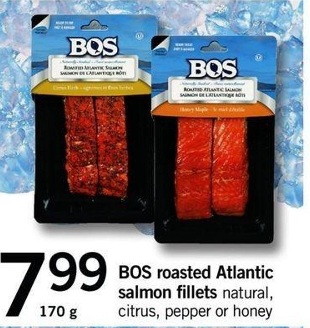 Bos Roasted Atlantic Salmon Fillets