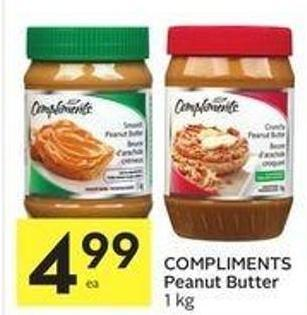 Compliments Peanut Butter