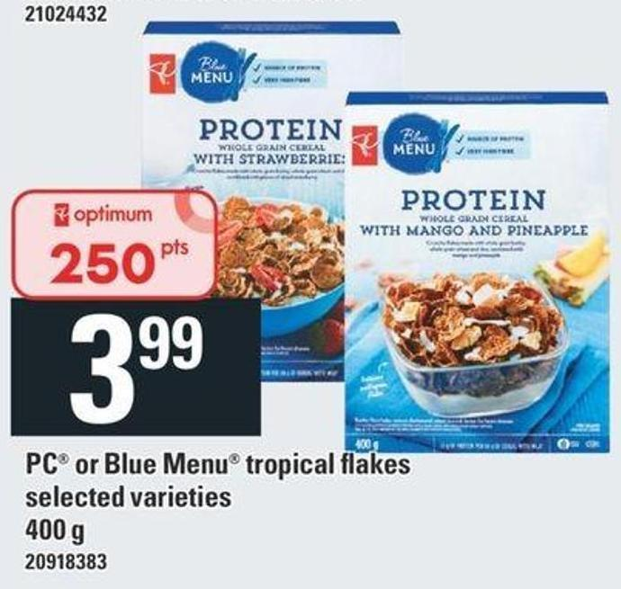 PC Or Blue Menu Tropical Flakes - 400 g