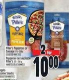 Piller's Pepperoni Or Sausage 175 - 250 g