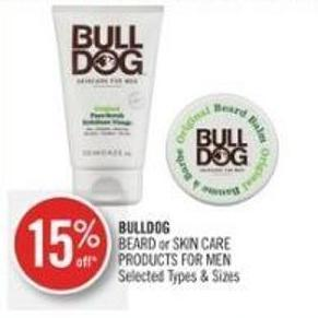 Bulldog Beard or Skin Care Products For Men