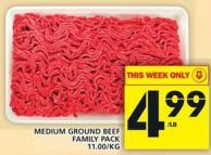 Medium Ground Beef Family Pack