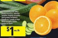 Dole Salad Mix - 255-340 g - English Cucumber Or Large Navel Oranges