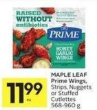 Maple Leaf Prime Wings