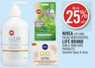 Nivea Lip Care - Facial Moisturizers - Life Brand Sun or Skin Care Products