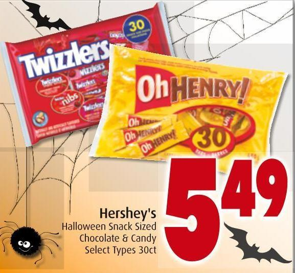 Hershey's Halloween Snack Sized Chocolate & Candy
