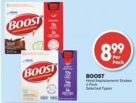 Boost Meal Replacement Shakes 6 Pack