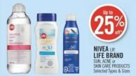 Nivea Lip - Life Brand Sun - Acne or Skin Care Products