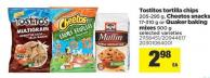 Tostitos Tortilla Chips - 205-295 G - Cheetos Snacks - 17-310 G Or Quaker Baking Mixes - 900 G
