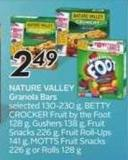 Nature Valley Granola Bars - 50 Air Miles Bonus Miles
