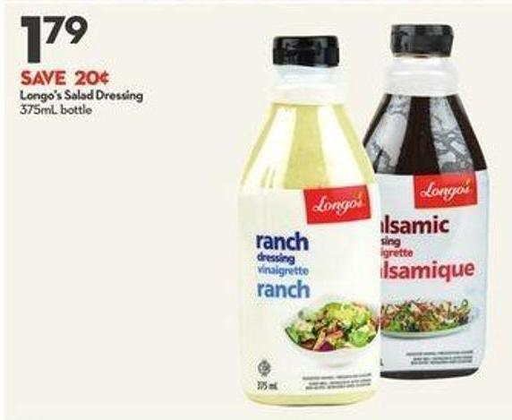 Longo's Salad Dressing