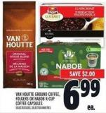 Van Houtte Ground Coffee - Folgers Or Nabob K‑cup Coffee Capsules