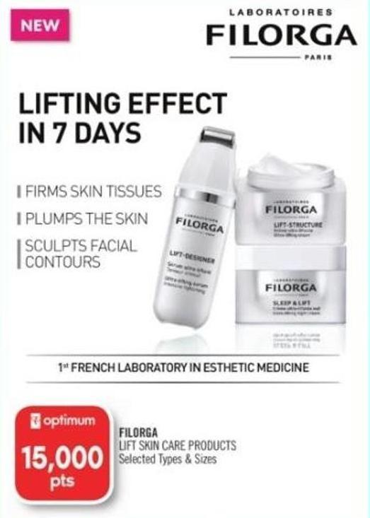 Filorga Lift Skin Care Products