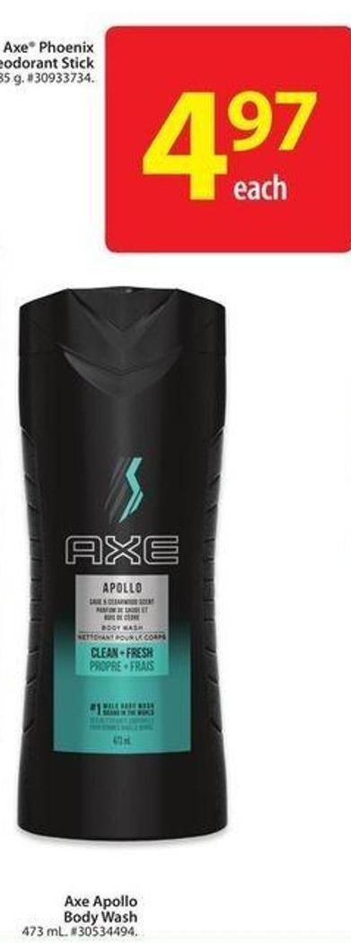 Axe Apollo Body Wash