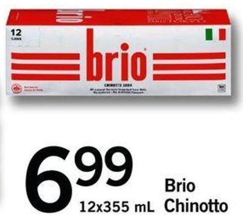 Brio Chinotto - 12x355 Ml