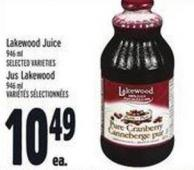 Lakewood Juice