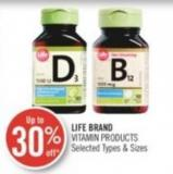 Life Brand Vitamin Products