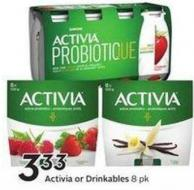Activia or Drinkables