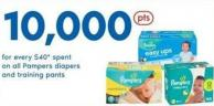 Pampers Diapers And Training Pants