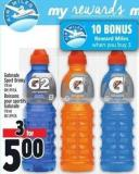 Gatorade Sport Drinks 710 ml Or 1.99 Ea.