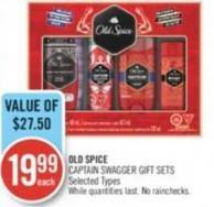 Old Spice Captain Swagger Gift Sets