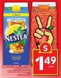 Minute Maid - Nestea - Fruitopia Or Peace Tea Drinks