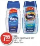 Tums Antacid Tablets Value Size 140's - 160's