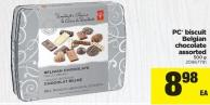 PC Biscuit Belgian Chocolate Assorted - 500 g