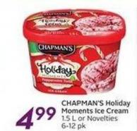 Chapman's Holiday Moments Ice Cream