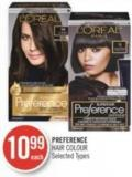 Preference Hair Colour