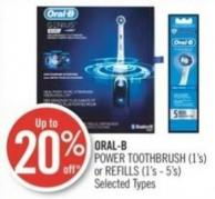 Oral-b Power Toothbrush (1's) or Refills (1's - 5's)