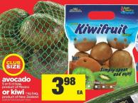 Avocado - 5 Or 6 Ct Bag Or Kiwi 1 Kg Bag