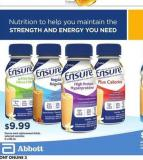 Ensure Meal Replacement Drinks - 6 X 235 mL