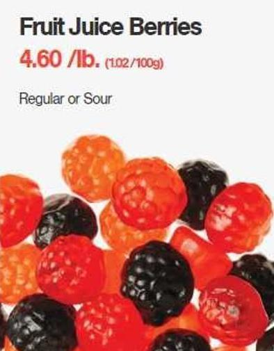 Fruit Juice Berries