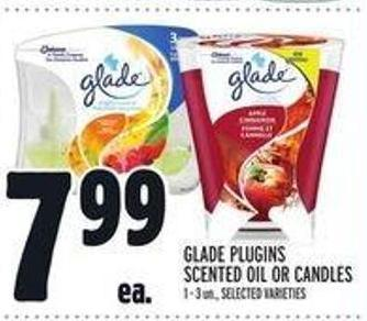Glade Plugins Scented Oil Or Candles