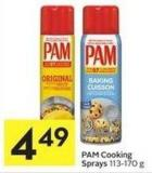 Pam Cooking Sprays