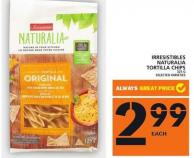 Irresistibles Naturalia Tortilla Chips