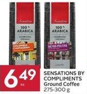 Sensations By Compliments Ground Coffee 275-300 g