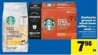 Starbucks Ground Or Whole Bean Coffee - 340 g Or PODS - 10's