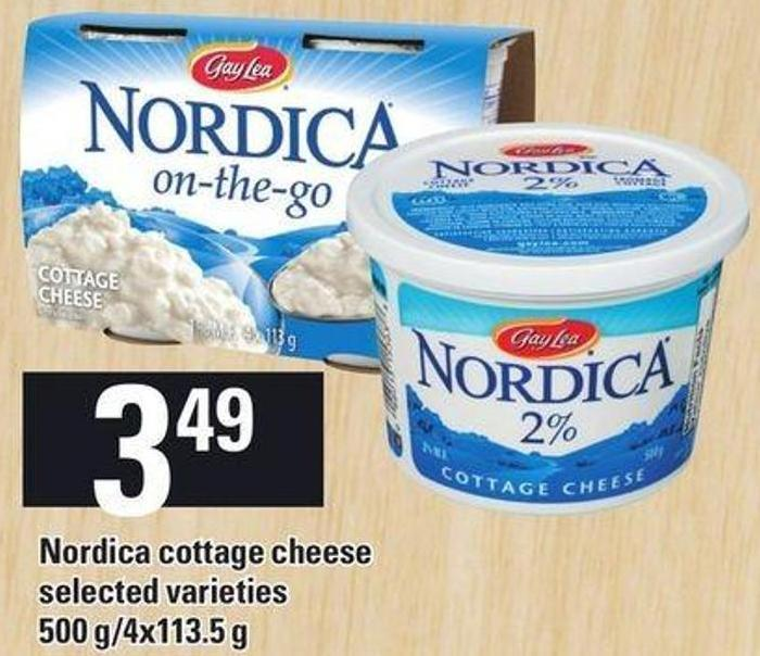 Nordica Cottage Cheese - 500 G/ 4x113.5 g