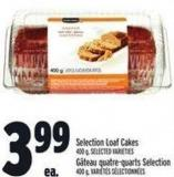 Selection Loaf Cakes 400 g