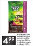 Morningstar Farms Burgers