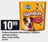 Pedigree Dentastix - Marrobone Or Jumbone