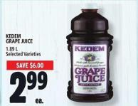 Kedem Grape Juice 1.89 L