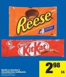 Nestlé Or Hershey's Chocolate Bar Multipacks - 4's