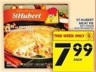 St-hubert Meat Pie