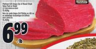 Platinum Grill Angus Eye Of Round Steak Value Pack Or Roast