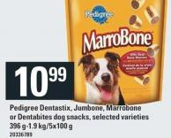 Pedigree Dentastix - Jumbone - Marrobone Or Dentabites Dog Snacks - 396 G-1.9 Kg/5x100 g