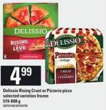 Delissio Rising Crust Or Pizzeria Pizza - 519-888 g